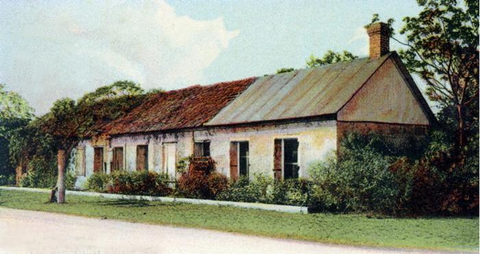 Old Fort Dallas, Miami, Florida