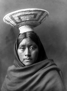 Papago Girl by Edward S. Curtis, 1907