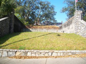 Fort George site in Pensacola, Florida courtesy Wikipedia