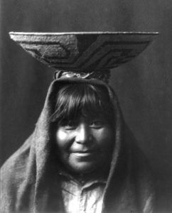 Pima Woman by Edward S. Curtis, 1905