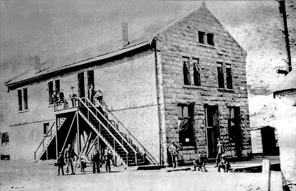 Pleasant Valley Coal Company Office, about 1898