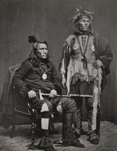 Potawatomi Chief Crane and Brave