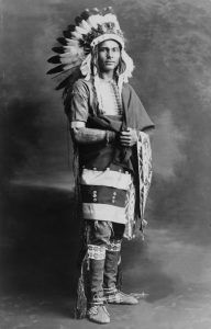 Potawatomi Chief Strong Arm, 1909