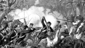 Seminole War in Florida
