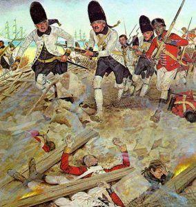 Siege of Pensacola, Florida by H. Charles McBarron, Jr