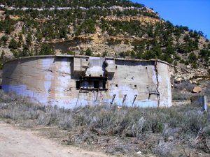Stardville, Utah, coal storage today, by Kathy Weiser-Alexander