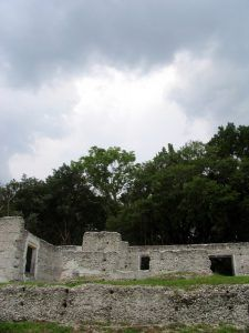 Tabby Ruins on Fort George Island, Florida