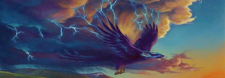 The Great Thunderbird, by Selladorra on Deviant Art.