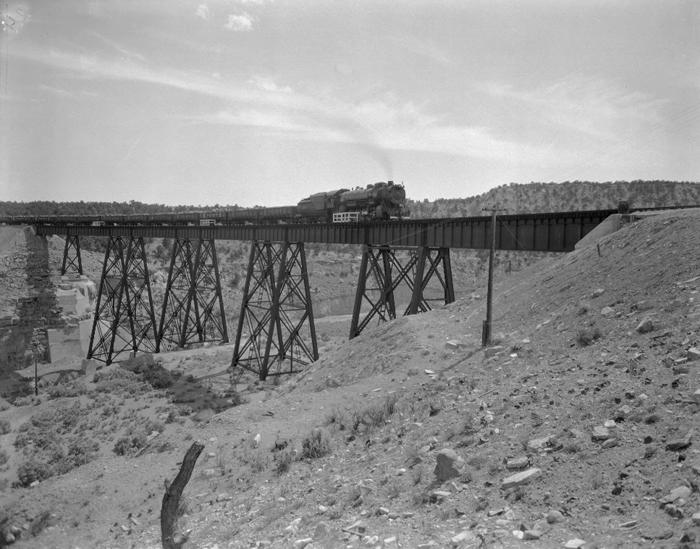 Utah Railroad at Gordon Creek, Utah.