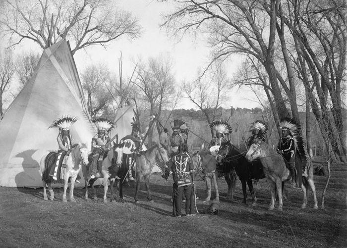 Ute Indians, Frank Gonner, 1904