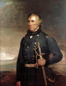 Zachary Taylor by Joseph Henry Bush. about 1848