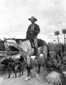 Cracker cowboy by Frederick Remington, 1895