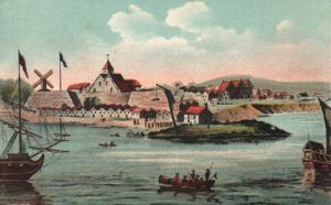 Fort Amsterdam was one of the many Dutch forts established in New York