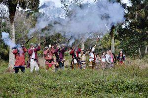 Loxahatchee Battlefield Reenactors, courtesy Loxahatchee Battlefield