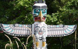 Thunderbird Totem Pole