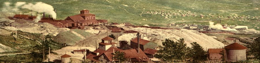 Battle Mountain Mines in Cripple Creek, Colorado by Detroit Photograhic, 1900