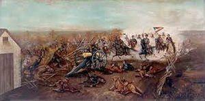 Battle of Byram's Ford by Benjamin D. Mileham