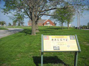 Battle of the Little Blue River, Missouri Historical Marker