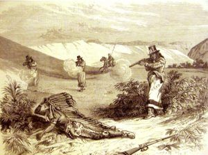 Battle of Wolf Mountain, Montana