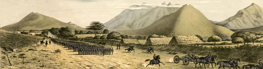 Battle of Monterey, Mexico by Daniel P. Whiting, 1847