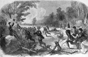 Battle of Rich Mountain, West Virginia by William J. Hennessy, 1861