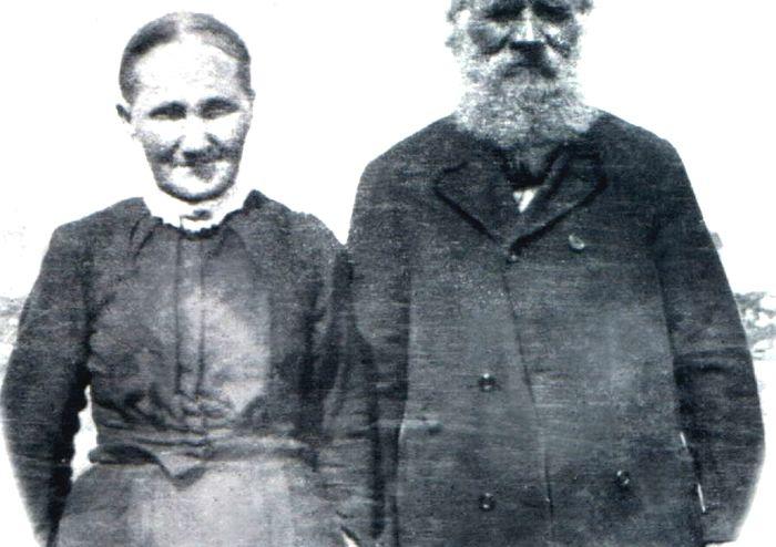 Benjamin Simms and Zerelda James Simms