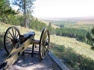 Big Hole Battlefield, Montana, by the National Park Service