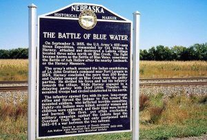 Battle of Blue Hollow Historical Marker