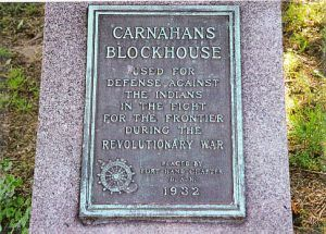 Carnahans Blockhouse Marker