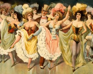 Vaudeville Dancing Girls