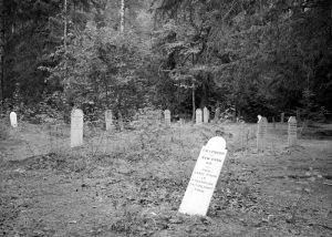 Slide Cemetery at Dyea, Alaska