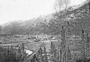 Dyea, Alaska Townsite, 1898
