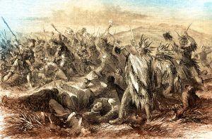 Fetterman Massacre, in northeast Wyoming