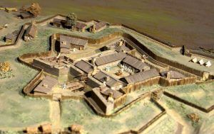 Model of Fort Duquesne, Pennsylvania