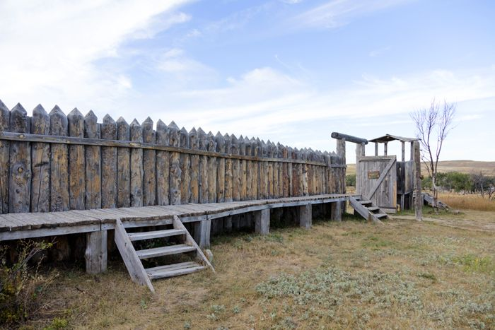 Fort Phil Kearny, Wyoming today