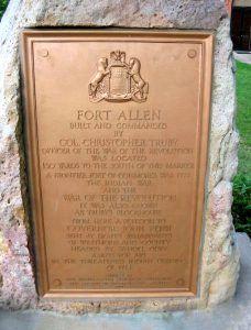 Fort Allen, Westmoreland County, Pennsylvania Marker