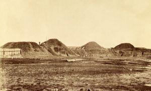 Fort Fisher, North Carolina by Timothy H. O'Sullivan, 1865