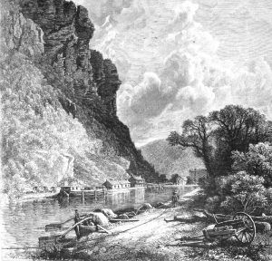 Harpers Ferry, West Virginia by John D. Woodward, 1873