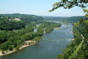 Potomac River at Harpers Ferry, West Virginia