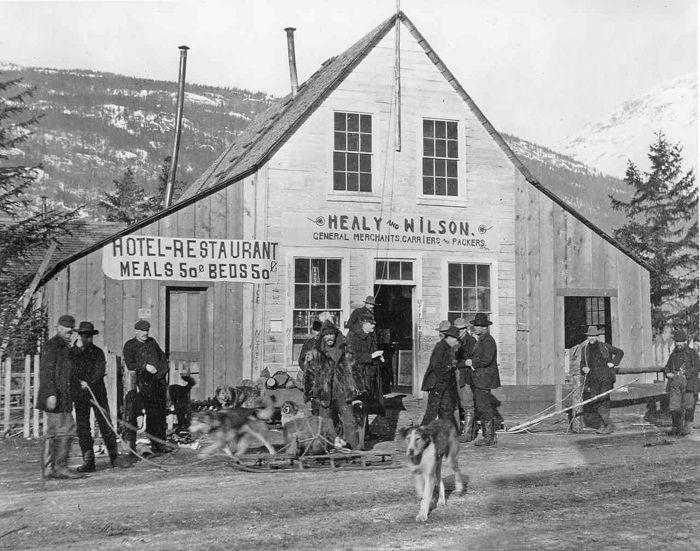 Healy-Wilson Trading Post, Dyea, Alaska