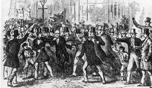 Hostile Mob Attacks Abolitionists