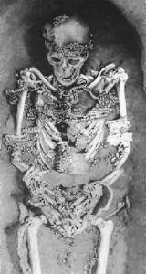 Jeweled Skeleton Queen