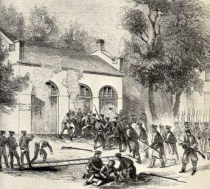 John Brown's Raid at Harpers Ferry, West Virginia