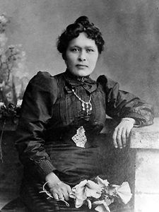 Kate Carmack was one of the original discovers of the gold that led to the Klondike gold rush.
