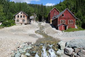 Kennecott Hospital and East Bunkhouses by the National Park Service