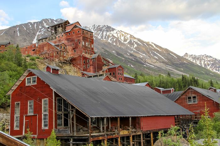 Kennecott Machine Shop and Mill Building by Matthew Yarbrough, National Park Service