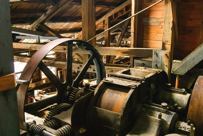 Kennecott Mill Building Equipment by Bryan Petrtyl, National Park Service
