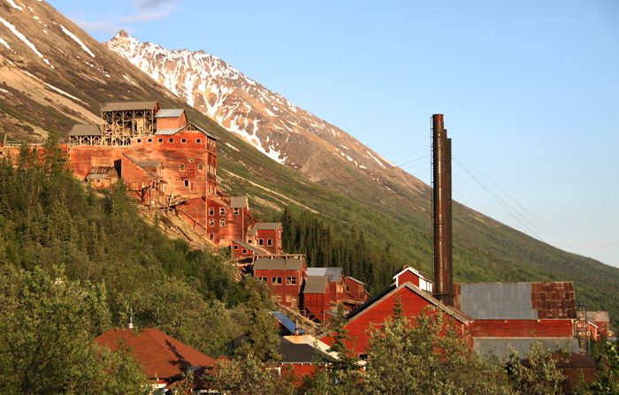 Kennecott Mine, Alaska by Matthew Yarbrough, National Park Service