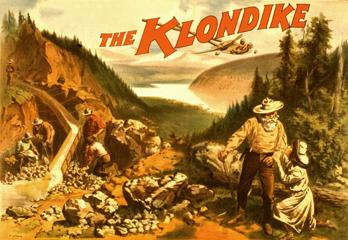 The Klondike Gold Rush by Strobridge & Co., 1897