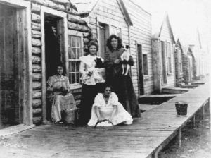 Klondike Women in Dawson. Yukon